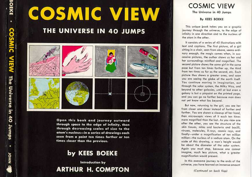 Cosmic View The Universe In 40 Jumps By Kees Boeke